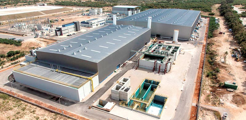 Ashdod desalination plant Photo: Albatross