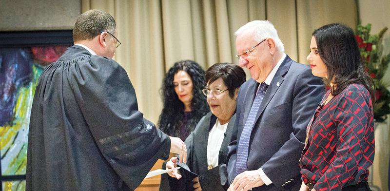 שופטים בטקס השבעה / צילום אילוסטרציה: שלומי יוסף