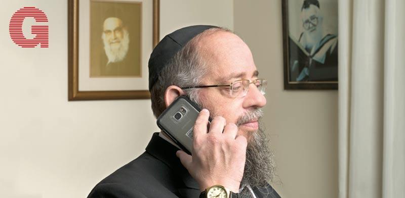הרב אברהם ישעיהו הבר / צילום: יונתן בלום