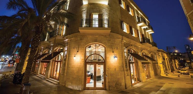 """מלון מארקט האוס ביפו - מערכת VRF מאפשרת התקנה גמישה גם ביחידה החיצונית / צילום: יח""""צ תדיראן"""