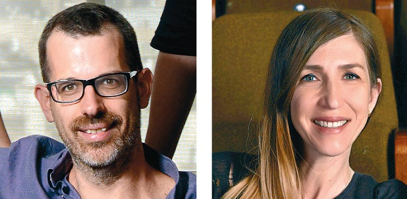 סופי מלניק - אמיתי ואלון ברנר / צילומים: עופר חג'יוב ואיל יצהר