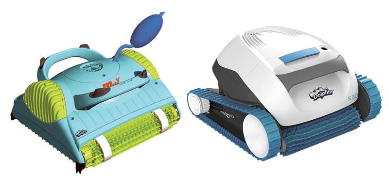 רובוטים לניקוי בריכה של מיטרוניקס / צילומים: אתר החברה