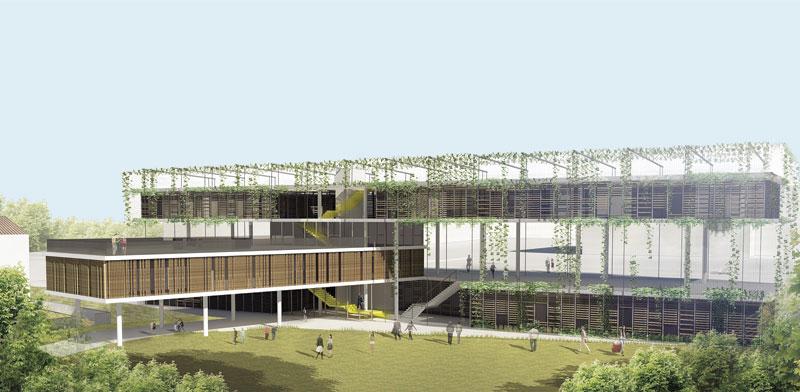 הבניין בשכונת כוכב הצפון בתל-אביב / הדמיות: משרד קיסלוב קיי