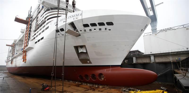 סירה של MSC / צילום: סטפן מאה, רויטרס