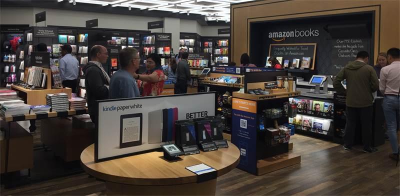 חנות ספרים אמזון / צילום: שאטרסטוק