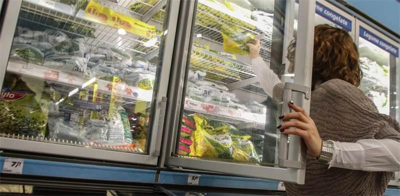 ירקות קפואים, סופרמרקט / שאטרסטוק