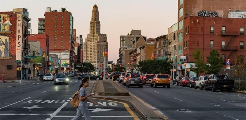 שכונת ברוקלין בניו יורק / צילום: shutterstock