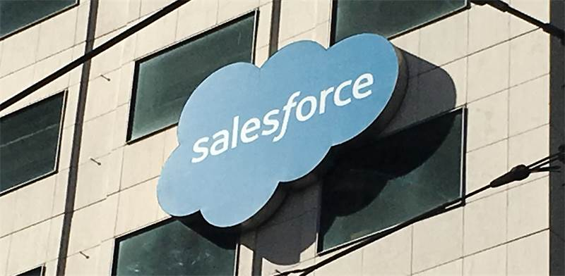Salesforce Photo: Reuters