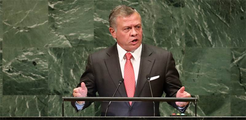 Jordan's King Abdullah Photo: Reuters