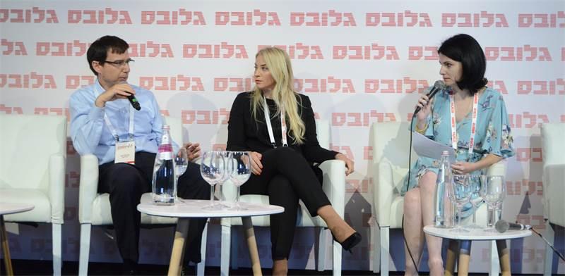לבנת עין שי וחנן פרידמן בדיון עם עירית אבישר / צילום: איל יצהר