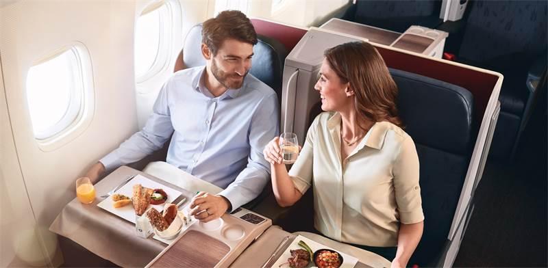 """ארוחה במטוס / צילום: יח""""צ"""