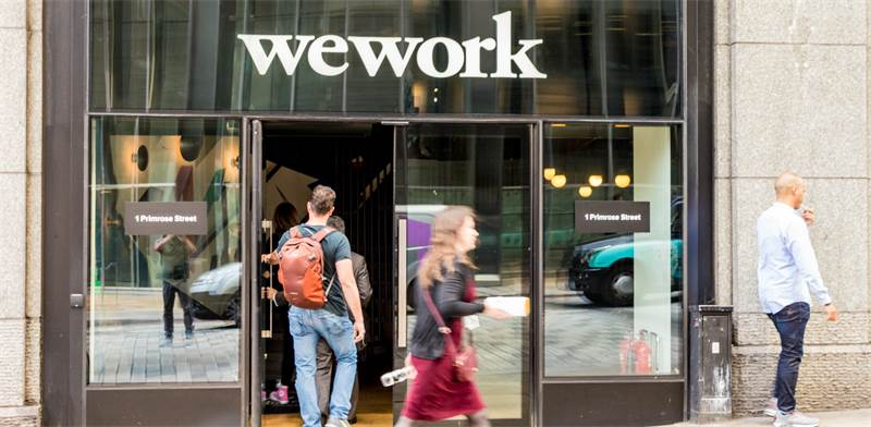 WeWork photo: Shutterstock Chrispictures