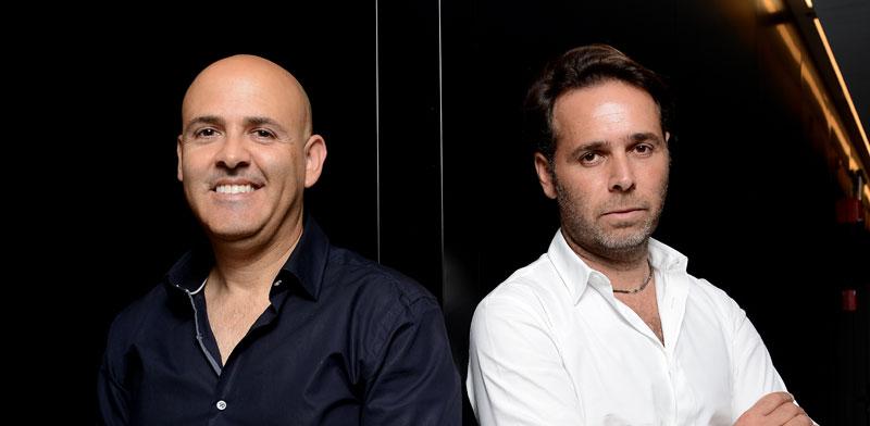 ברק רוזן (מימין) ואסי טוכמאייר, בעלי השליטה בישראל קנדה / צילום: איל יצהר