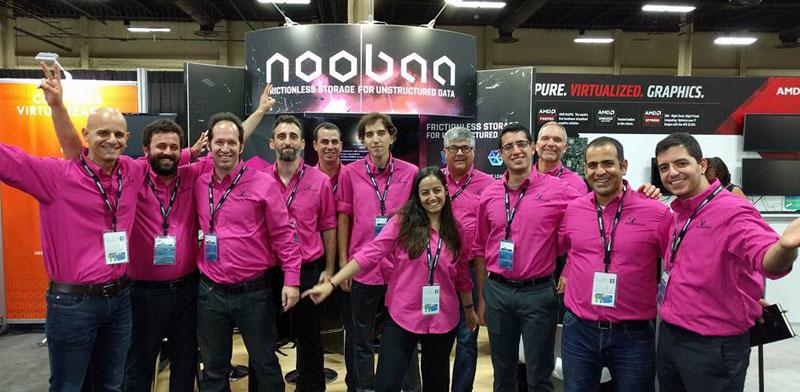 צוות חברת NooBaa/ צילום:NooBaa