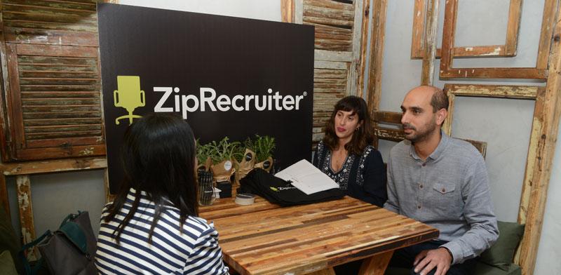 משרדי  ZipRecruiter  / צילום: איל יצהר