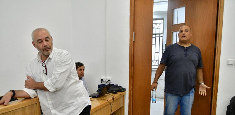 אלון חסן ורונאל פישר/ צילום: רפי קוץ