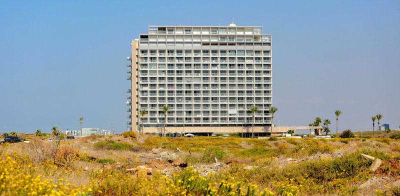 הקרקעות ליד מלון מנדרין בתל-אביב / צילום: שלומי יוסף