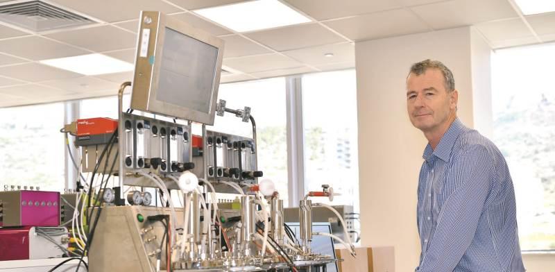 """מנכ""""ל לונזה מרק פונק. הגענו לכאן לא כדי להקים מפעל ייצור, אלא כדי ליהנות מהיכולות של הישראלים בתחום"""