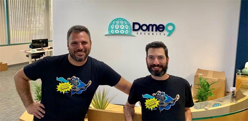 """מייסדי DOME9, זוהר אלון ורועי פינטוך / צילום: יח""""צ"""
