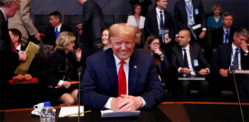 """נשיא ארה""""ב, דונלד טראמפ / צילום: Francois Lenoir, רויטרס"""