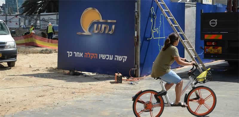 הרכבת הקלה בתל-אביב \ צילום: איל יצהר