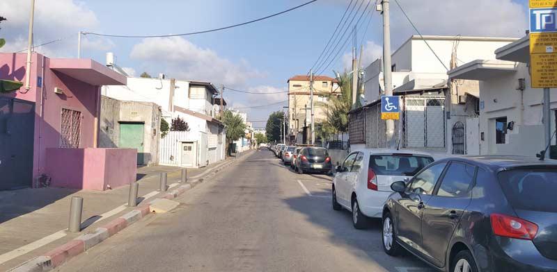 שכונת שפירא בתל-אביב / צילום: גיא נרדי