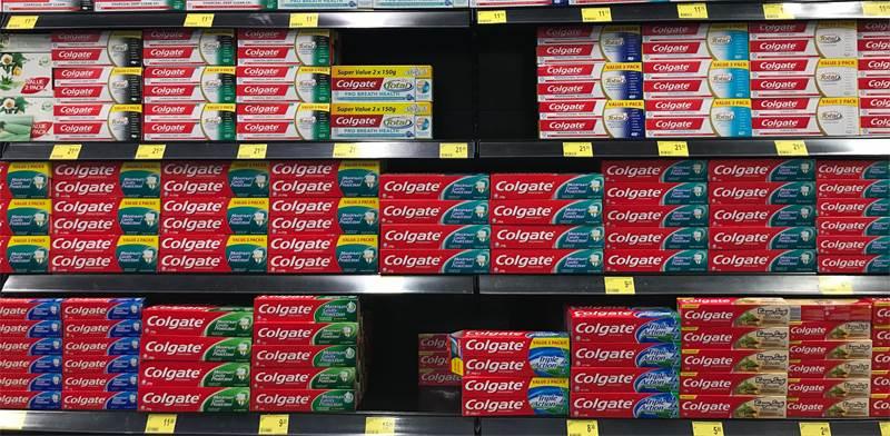 משחת שיניים קולגייט / צילום: שאטרסטוק
