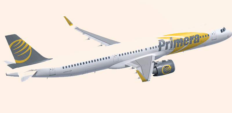 Primera Airlines Photo: Company website