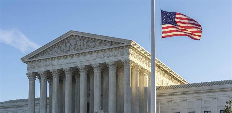 """בית המשפט העליון בארה""""ב / צילום: שאטרסטוק"""