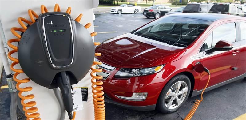מכונית חשמלית של ג'נרל מוטורוס / צילום: רויטרס