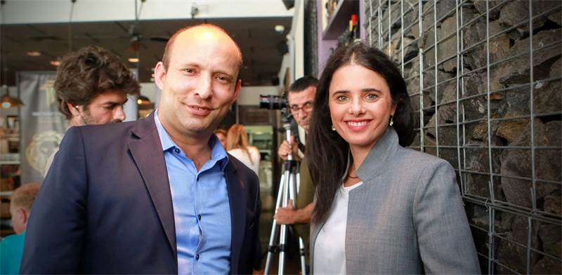 Naftali Bennett and Ayelet Shaked  photo: Shlomi Yosef