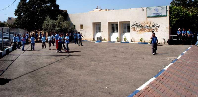 ג'סר א-זרקא בית ספר / צילום: איל יצהר