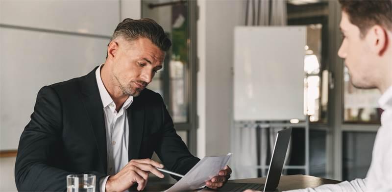ראיון עבודה. לעצמאים יש סיכוי לעבור? / צילום: Shutterstock / א.ס.א.פ קרייטיב