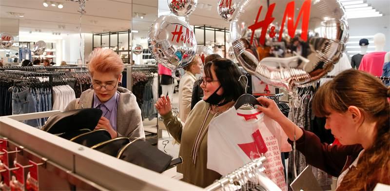 חנות של H&M / צילום: מקסים שמטוב, רויטרס