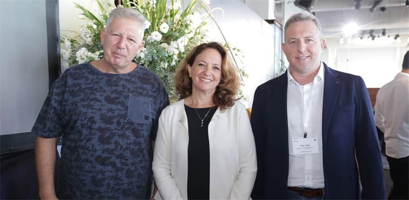 אמיר אייל, דפנה גונן וגילעד אלטשולר / צילום: ארז בלסברג