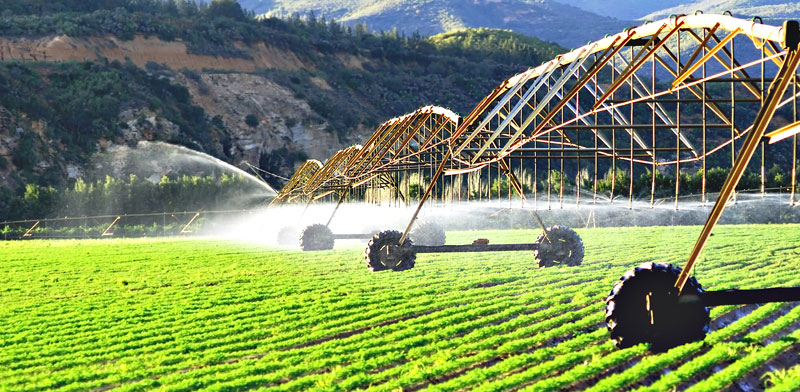 Pivot irrigation system