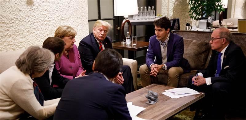 ה-G7 / צילום: רויטרס