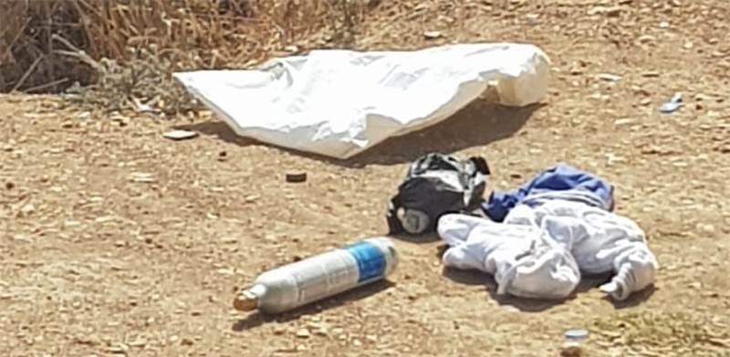 """מטעני חבלה - ניסיון פיגוע בבית המשפט הצבאי שומרון בחטמ""""ר מנשה / צילום: דוברות המשטרה"""
