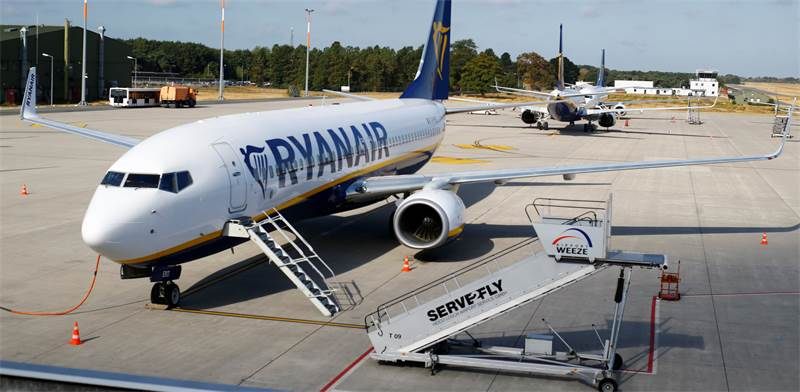 Ryanair Photo: Reuters