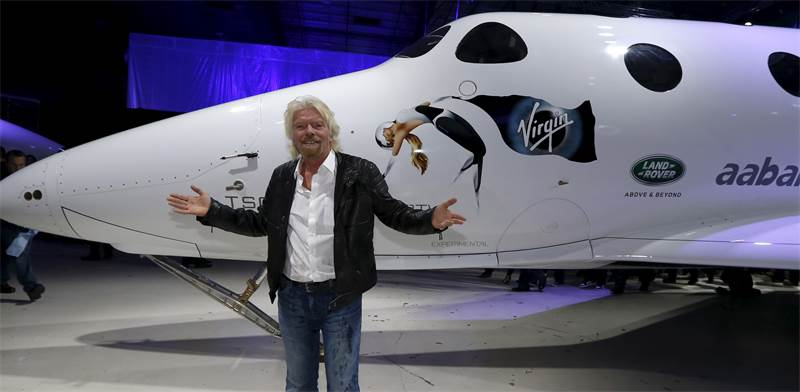 Richard Branson Photo: Reuters