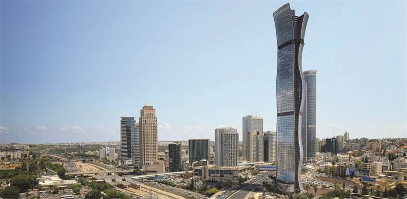 מגדל בין ערים / הדמיה: מילוסלבסקי אדריכלים