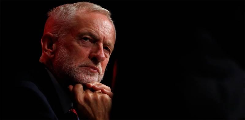 """ג'רמי קורבין, יו""""ר מפלגת הלייבור הבריטית / צילום: רויטרס"""
