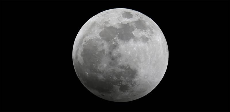 ליקוי הירח הערב בגבול קניה-טנזניה / צילום: רויטרס