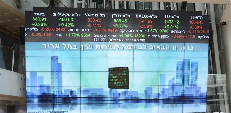 הבורסה בתל-אביב / צילום: איל יצהר