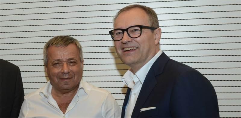 Andreas Fibig and Ori Yehudai Photo: Eyal Izhar