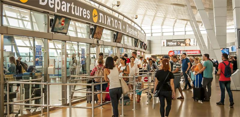 Ben Gurion Airport Photo: Shutterstock