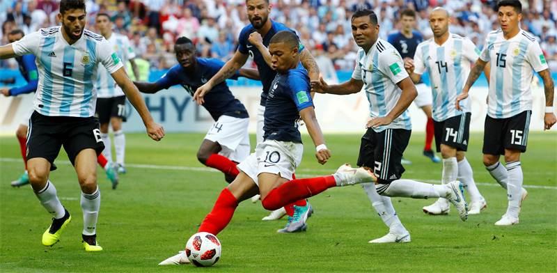 שחקן נבחרת צרפת קיליאן אמבפה / צילום: רויטרס