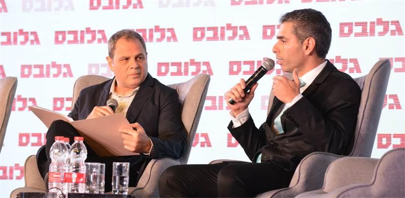 """פאנל """"פנסיה בשוק העבודה המשתנה"""" בוועידת ישראל לעסקים / צילום: תמר מצפי"""