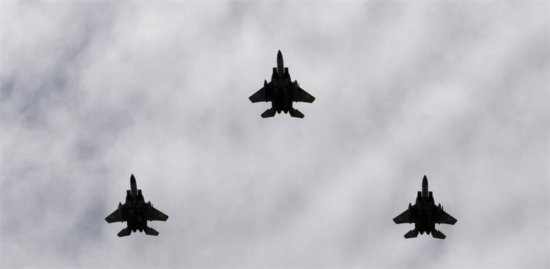 מטוסי חיל האוויר / צילום: רויטרס