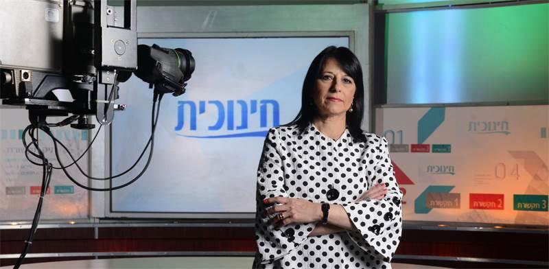 """מנכ""""לית הטלוויזיה החינוכית, ד""""ר אורנה שמחון / צילום: איל יצהר"""